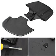 Front Soft Lowers Chaps Leg Warmer Bags For Harley Touring Electra Glide 1980-up