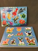 Melissa And Doug Sound Puzzle And Puzzle/game