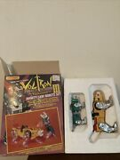 Voltron Iii Yellow And Green Mighty Lion Robots Set 1984 Matchbox Die Cast Toys