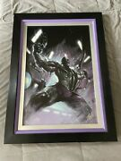 Secret War 1 Hulk Painting Signed By Stan Lee, 7th Out Of 10