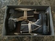 Rick Owens Black Bozo Tractor Boots Size 41