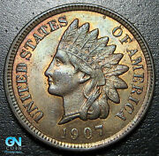 1907 Indian Head Cent Penny -- Make Us An Offer P8463