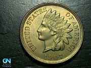 1907 Indian Head Cent Penny -- Make Us An Offer K3941
