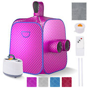 2l Portable Steam Sauna Folding Home Spa Tent For Body Slim And Detox Therapy