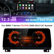 12.3and039and039 Ips Android Car Gps Radio Touch Screen Carplay For Bmw 7 Series F01 Cic