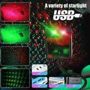 Usb Car Interior Led Light Roof Green/red Starry Sky Lamp Star Projector Lights