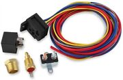 Msd Ignition 89616 Temperature-controlled Electric Cooling Fan Harness And Relay K