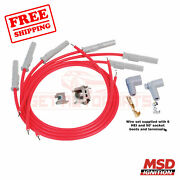 Msd Spark Plug Wire Set For Ford 1961-1965 Falcon Sedan Delivery