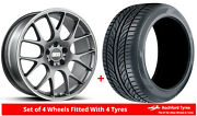 Alloy Wheels And Tyres 20 Bbs Ch-r For Dodge Caravan [mk5] 08-13