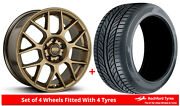 Alloy Wheels And Tyres 19 Bbs Xr For Skoda Superb [mk3] 15-20
