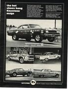1968 Keystone Custom Mag Wheels Sox And Martin Dragster Others Vintage Ad