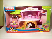 Fisher-price Little People Fairy Treehouse 2009 Horse Figure