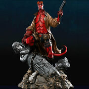 Acme Studio Hellboy 1/4 Resin Statue Model Anime Painted Collectible In Stock