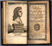 Lucans Pharsalia Or The Civil-wars Of Rome Between Pompey The Great And Julius