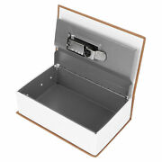 Book Safe Storage Lock Box Dictionary Money Coines Box With Security Combination