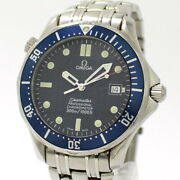 Secondhand Omega Seamaster Professional Diver 300 Mens Automatic Winding Ss Navy