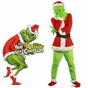 Cosplay Costume How Stole Xmas Christmas Cosplay Props Suit Xl