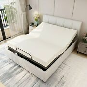 Smart Electric Bed Base Frame Adjustable Foundation Queen Size - No Mattress