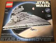 Lego Star Wars Imperial Star Destroyer 10030rare Discontinued With Box