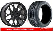 Alloy Wheels And Tyres 22 Velare Vlr02 For Audi A8 [d4] 09-17