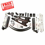 Zone 6 Front And Rear Radius Arm Suspension Lift Kit For Ford F350 4wd 2011-16
