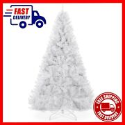 Christmas Tree 6ft White Decor Xmas Outdoor Indoor Hanging Ornaments Full 1000
