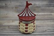New 2014 Longaberger Collectors Club Homestead Gathering Circus Event Basket