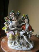 Original Antique Porcelain Figurine Germany 18s And 19s Marked