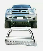 Bull Bar For 99-06 Tundra/01-07 Sequoia Front Bumper Grille Guard Stainless New