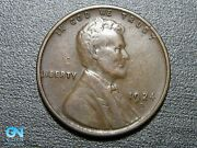 1924 D Lincoln Cent Wheat Penny -- Make Us An Offer K7157