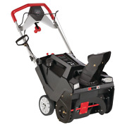 Gas Snow Thrower 21 In. Electric Start Single-stage W/ Dual-led Headlights