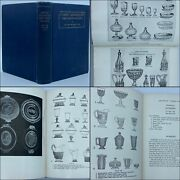 1933 Early American Pressed Glass 190 Illustrations Glassware Patterns Vintage
