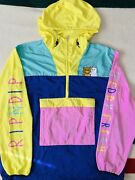 Ripndip Teddy Fresh Color Block Anorak Hard To Find Size - Xl Excellent Cond