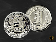 Year Of The Rat Limited Edition - 1oz 999.5 Silver Bullion Coin Certified