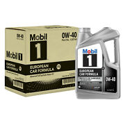 Mobil 1 120760 Full Synthetic Engine Oil 0w40 5 Quart Jugs Set Of 3