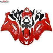 Full Abs Injection Bodywork For Zx6r 2007 2008 Kawasaki Zx-6r Zx636 Red Fairing