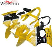 Yellow Injection Fairing Kit For Kawasaki Zx-6r 2000-2002 Zx6r Zzr600 2005-2008