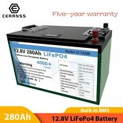 12v 280ah Lifepo4 Battery Pack Rechargeable Batteries Lithium Iron Phosphate New