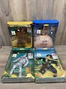 New Lot Hollywood Legends Wizard Of Oz Barbie Ken Posable Doll Collector Edition
