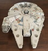 Star Wars Millenium Falcon 2008 Legacy Collection Hasbro Incomplete