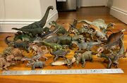 Papo Dinosaurs - Collection Of 28 Figures Several Discontinued