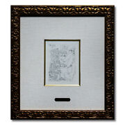 Gls Pablo Picasso B.1664 La From Celestine Etching Works Published In Art