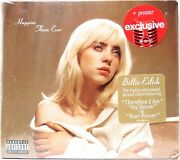 Billie Eilish - Happier Than Ever Cd + Poster Target Exclusive Explicit New