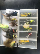 Lot Of Dave Whitlock Fishing Fly Flies Unused My Dads Vintage Mouse Rat Bee Fur