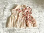 Vintage Blouse Ribbon Coco Mark From Japan Fedex No.8578