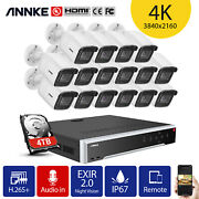 Annke 32ch 12mp H.265+nvr 4k 8mp Home Outdoor Security Poe Ip Camera System H800