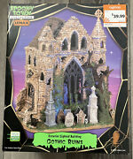Lemax Spooky Town Gothic Ruins Rare Halloween House Lights Sounds Brand New