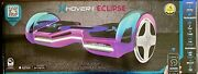 """Hover-1 Eclipse - Led Lights- 8"""" Wheels -led Lights - Bluetooth- Iridescent New"""