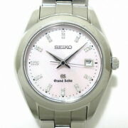 Secondhand Grand Elegance Collection Wristwatch Ss/shell Dial/22p Diamond Index