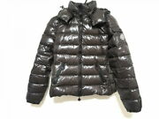 Moncler Down Jacket Size Xs Women And039s Bady Buddy Dark Brown Long Sleeves/winter